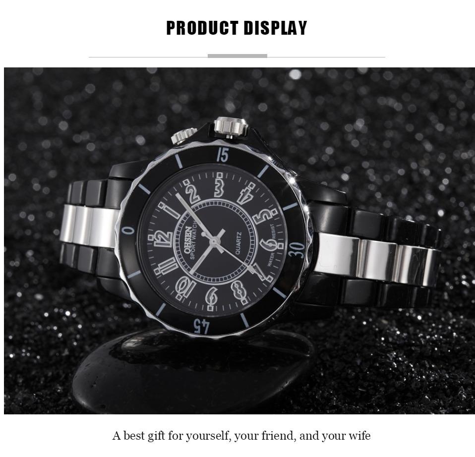 FG0736 Black 7 Colors Men Sport Watches OHSEN Brand - OHSEN 15