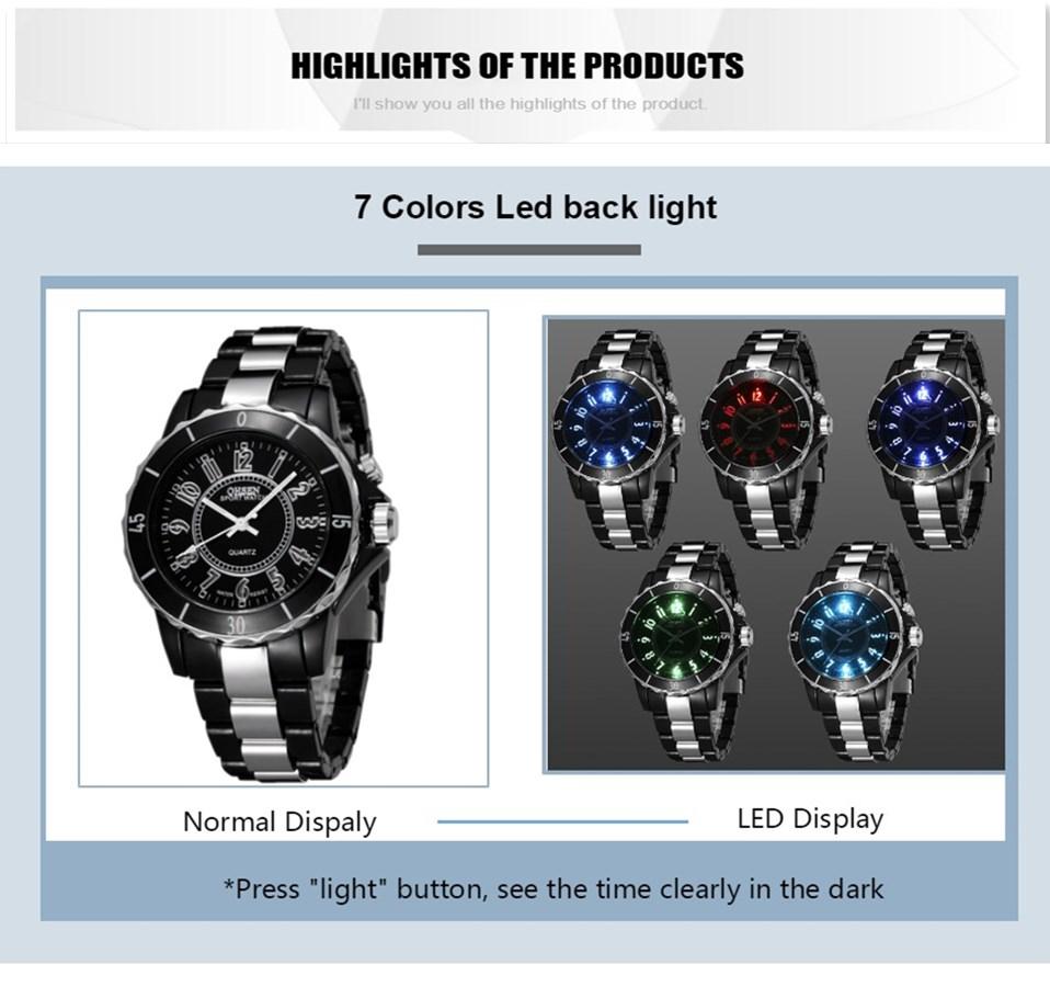 FG0736 Black 7 Colors Men Sport Watches OHSEN Brand - OHSEN 14