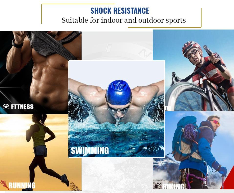 AD2820 Black Men Sport Watch Daul Display Watch OHSEN Brand - OHSEN 17