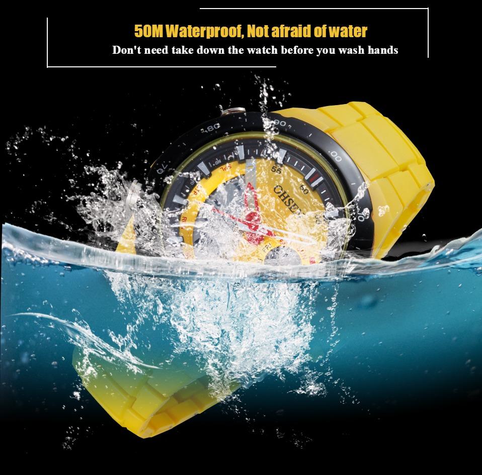 AD2802-Yellow Lady Watch Digital Women Sport Watch Wholesale  OHSEN Brand - OHSEN 19