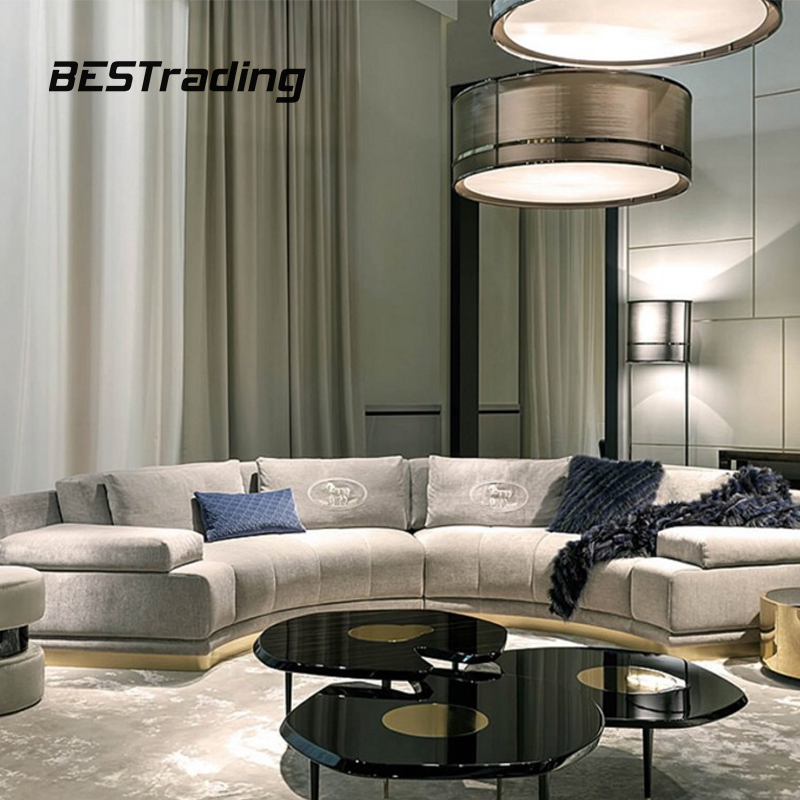 Living room furniture sets sofa set designs luxury 7 seater sofa set 7