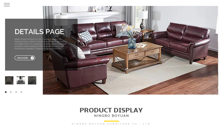Custom Morden Attractive Design Office 3 2 Seater Vintage Set Living Room Furniture Chesterfield Leather Sofa - Pinzheng Furniture 7