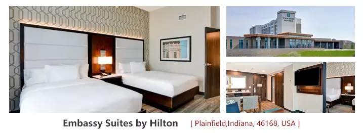 Four Points by Sheraton USA Luxury Hoteles Muebles Escritorio de madera Conjuntos de dormitorio del Hotel 16