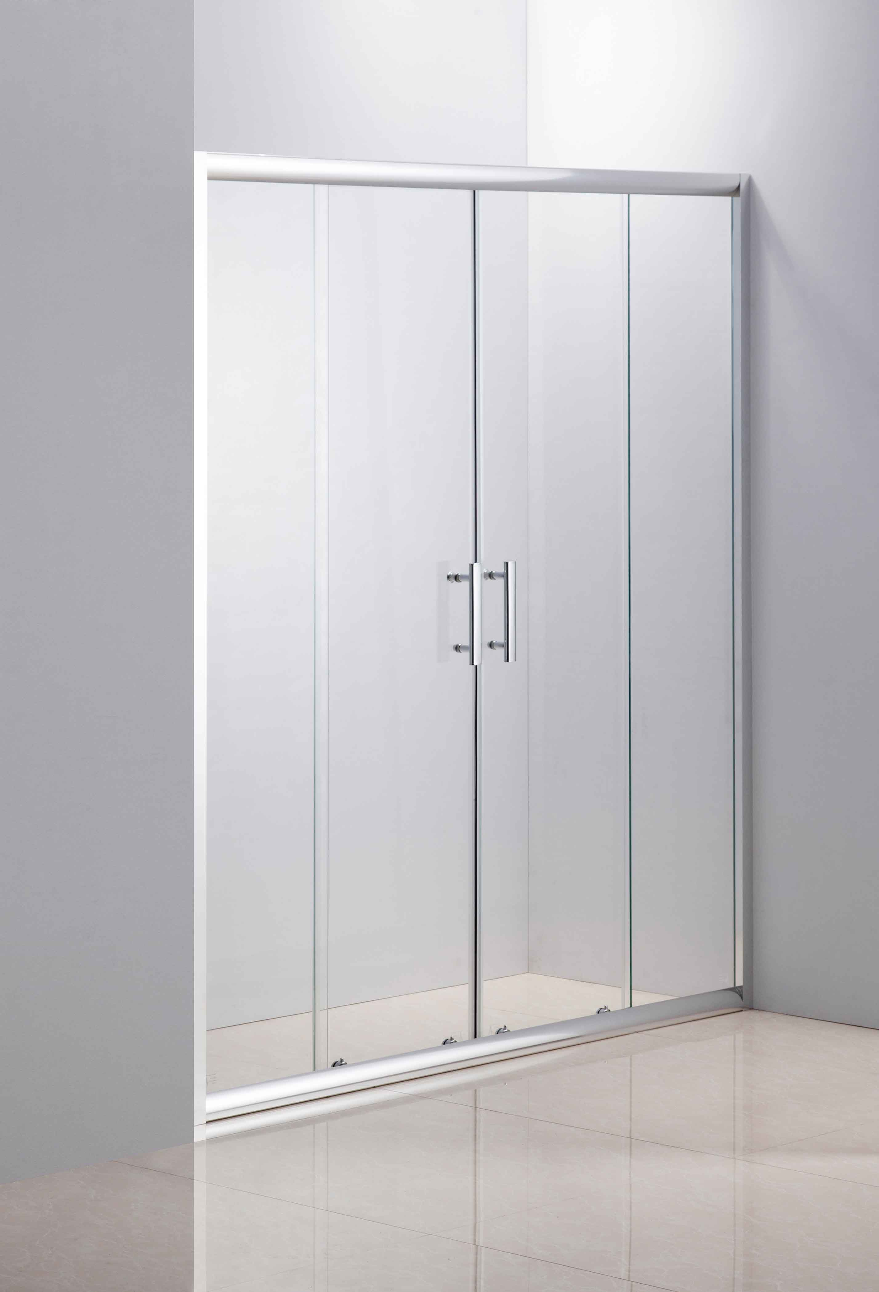 The newest design is sliding glass shower door 7