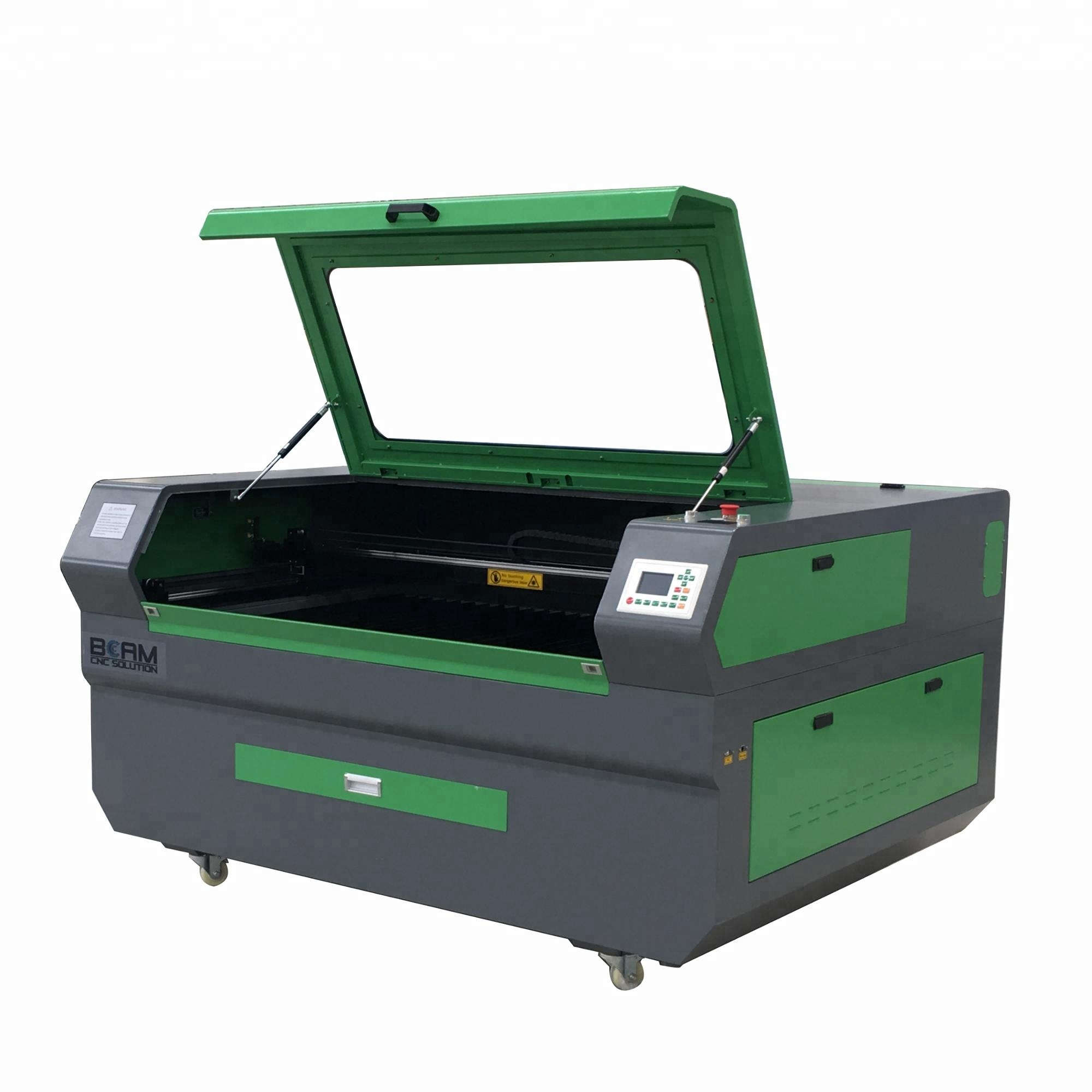 Laser wood fabric carving machine for hot sale 7