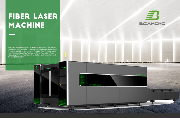 Easy operation Cypcut control system stainless steel fiber laser cutting machine 7