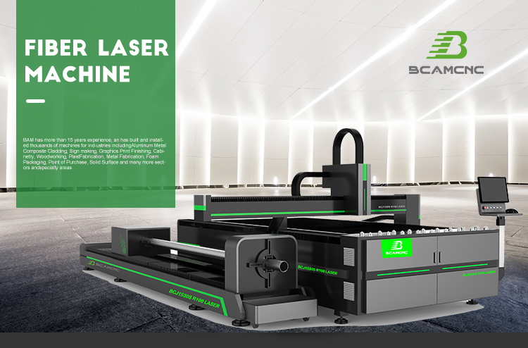 Low cost metal fiber laser cut machine for engineering machinery 1530 with rotary device 5