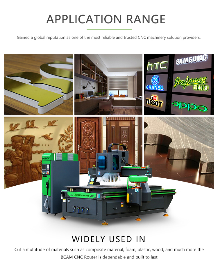 2060D CNC Wood Router Manufacturer/ Wood cabinet door making /ATC CNC router wood engraving machine - Dragon Machinery 6
