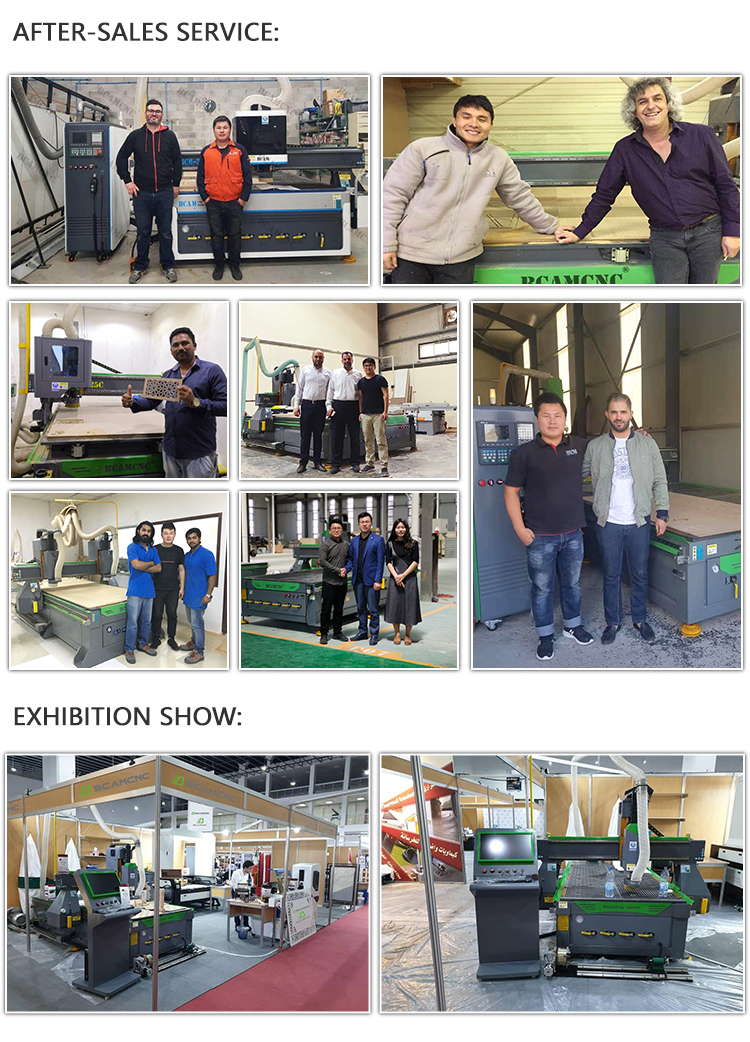 2060D CNC Wood Router Manufacturer/ Wood cabinet door making /ATC CNC router wood engraving machine - Dragon Machinery 13