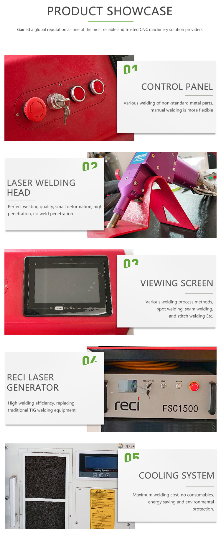 Hand Held Laser Welding Machine 1000w 1500w for Steel Aluminum From China - Dragon Machinery 11