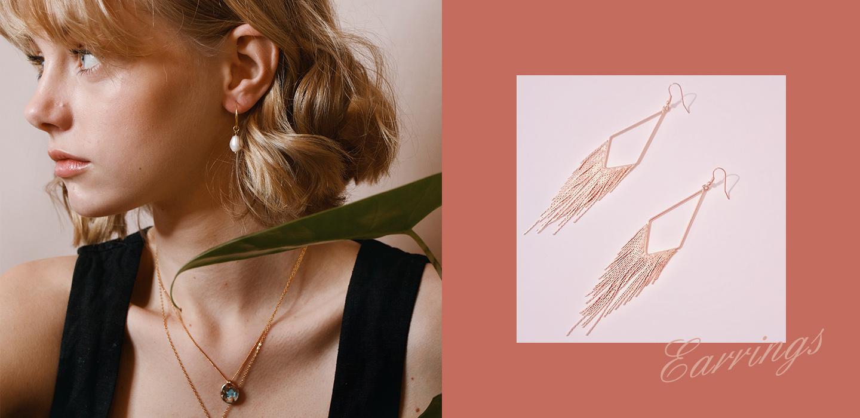 Golden  Earrings - Silvergld jewelry 5
