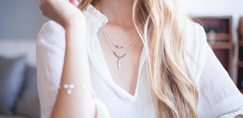 The Rosaria Moonstone Bracelets - Silvergld jewelry 5