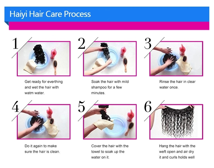 Unprocessed Brazilian hair extensions straight raw virgin cuticle aligned hair lace closure 14