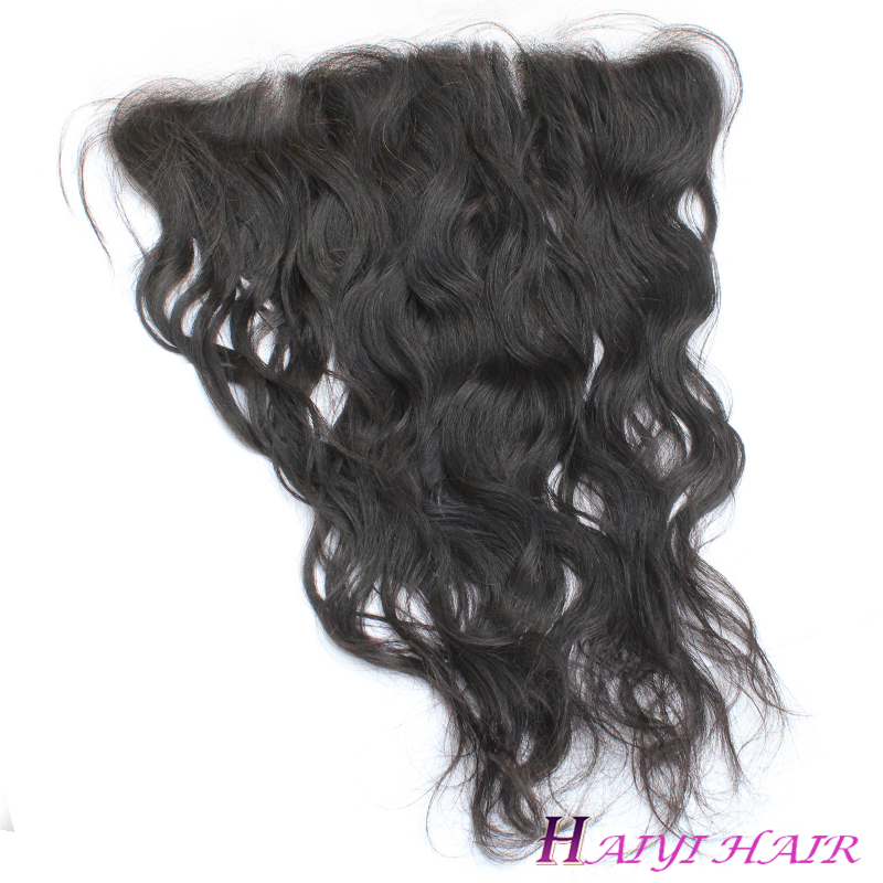 Hot Sale Best Quality Malaysian  Natural Wave  Lace Frontal  Hair  Virgin Hair  No Tangling No Shedding 6