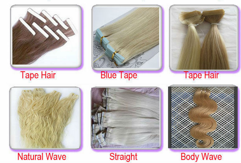 Wholesale 5A Grade Blonde Color Body Wave Clip In Virgin Brazilian Remy Human Hair Extensions 13
