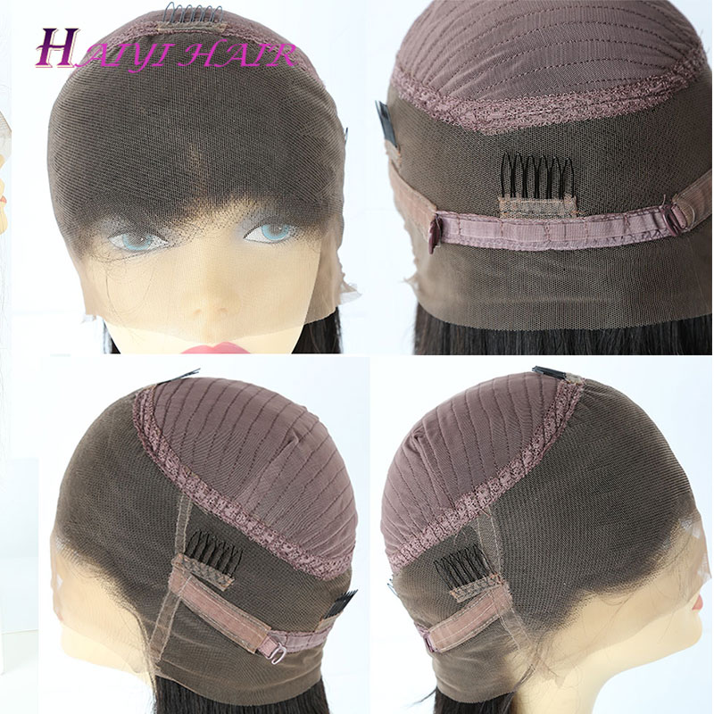 Fast Shipping Best Quality Cuticle Aligned Virgin Human Hair  Transparent HD Lace 360 Wigs 13