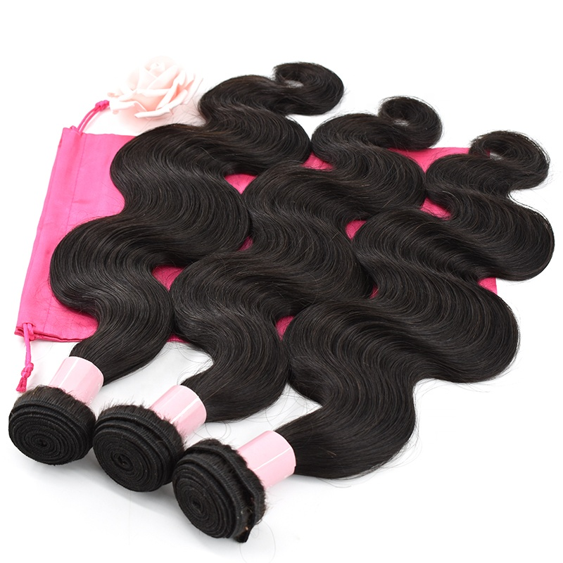 100% Unprocessed body wave 10inch to 30inch raw virgin Indian cuticle aligned hair 11