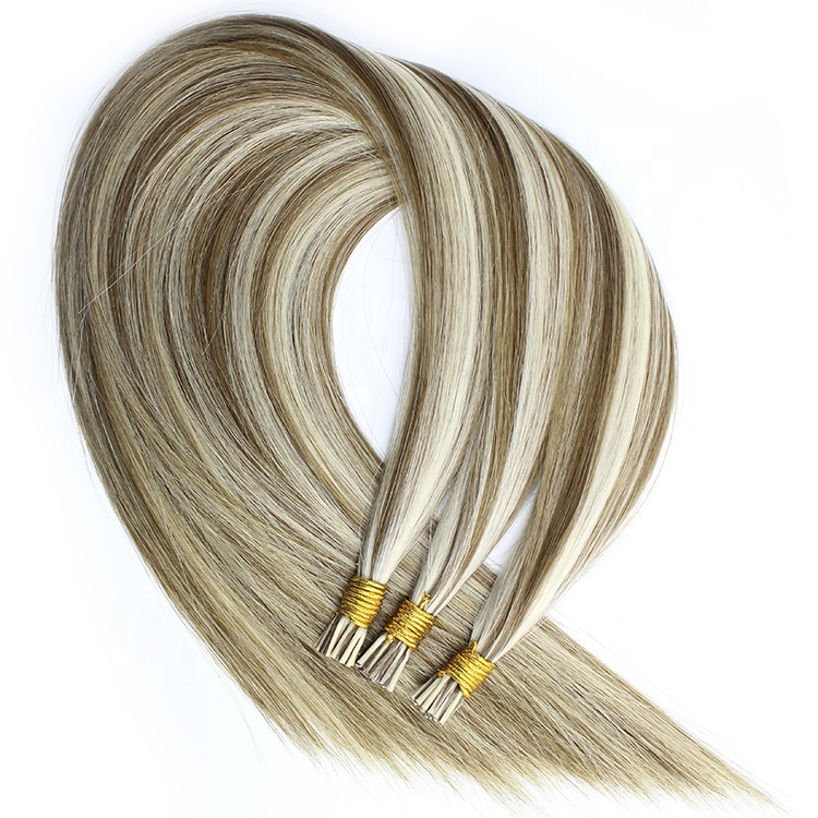 Wholesale Double Drawn European Virgin Cuticle Remy I Tip Hair 10