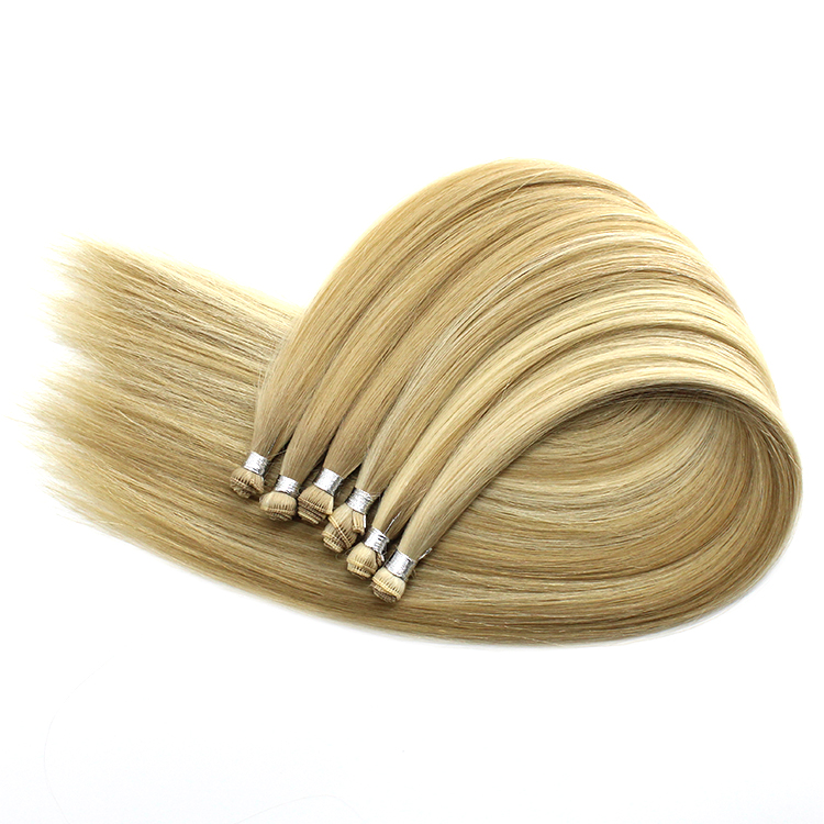 Best Virgin Hair Factory Full And Soft Double drawn handtied hair extensions 12