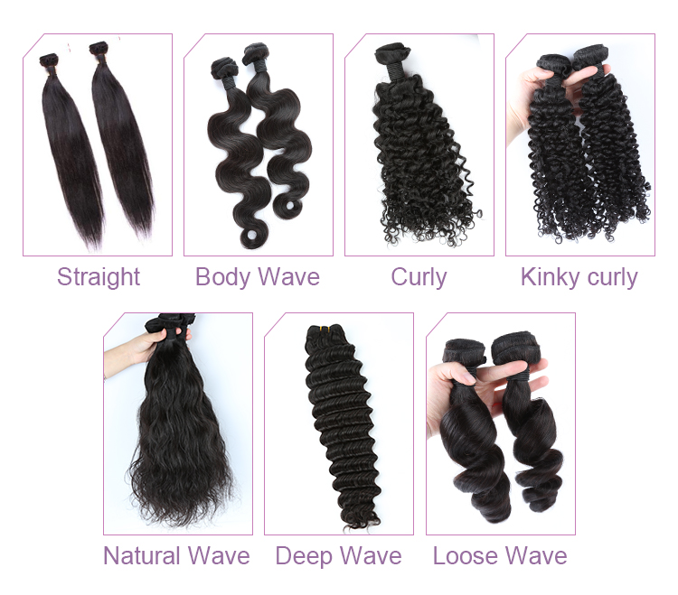 Large Stock Virgin Cuticle Aligned Virgin Brazilian Human Hair Lace Closure 12
