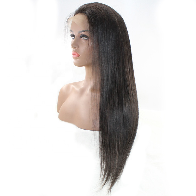 Pre Plucked  Wig Straight Brazilian Remy Human Hair 13x6 Deep Lace Wigs 8