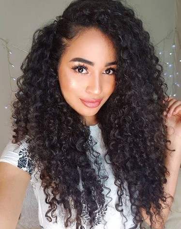 Pre Plucked  Wig Straight Brazilian Remy Human Hair 13x6 Deep Lace Wigs 17