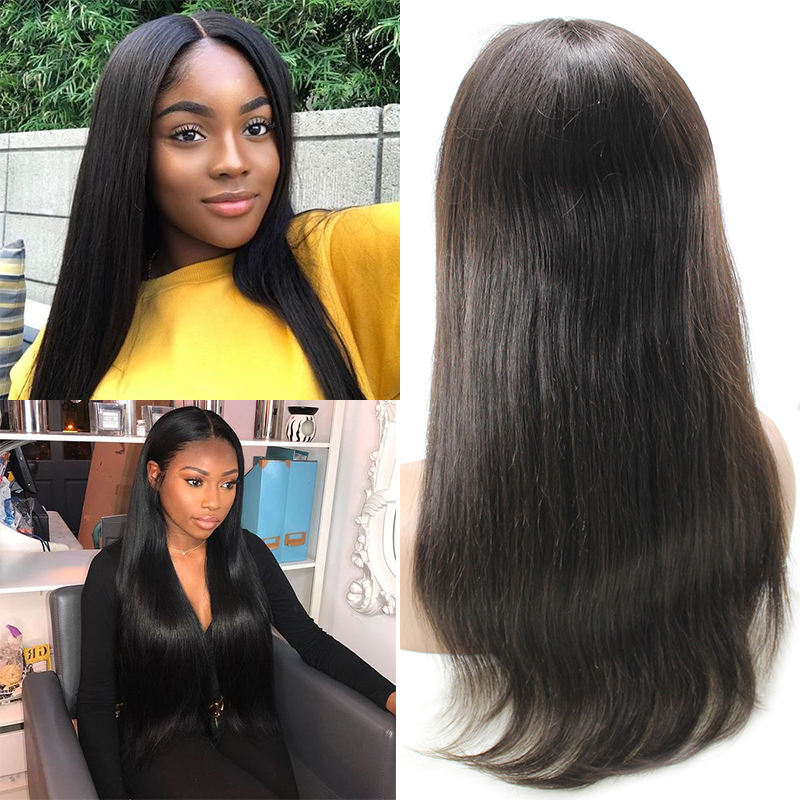 Top quality short 12 inches  straight cuticle aligned virgin human  for black women 12
