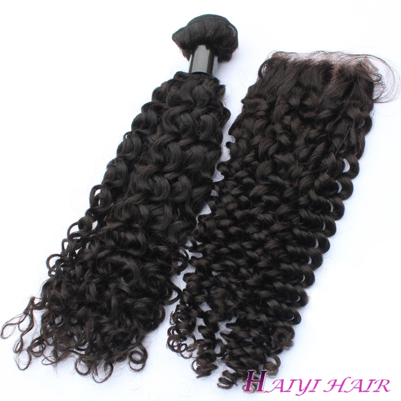 kinky curly human hair weave with bundle hair vendors Brazilian virgin,raw virgin double drawn Brazilian human Hair 8