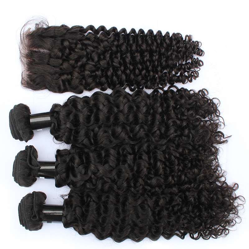 High Quality 9A Virgin Hair Cambodian Curly Human Hair No Tangle No Shedding 11
