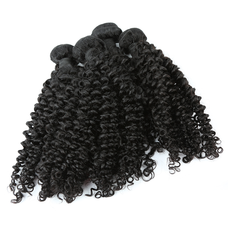 Wholesale 100% Mongolian Brazilian kinky curly human hair bundles Haiyi hair 13