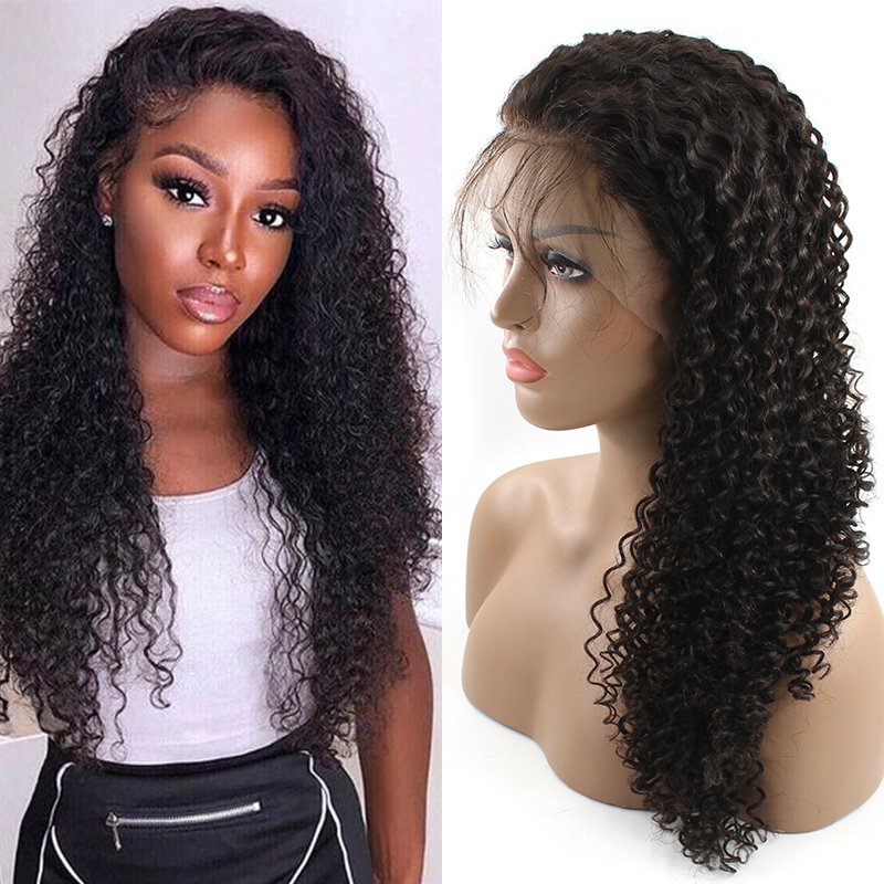 Cheap Wholesale Mink Brazilian Deep Curly Transparent Full Lace Lace Wigs/ Lace Frontal Wig Virgin Human Wig Vendor 13