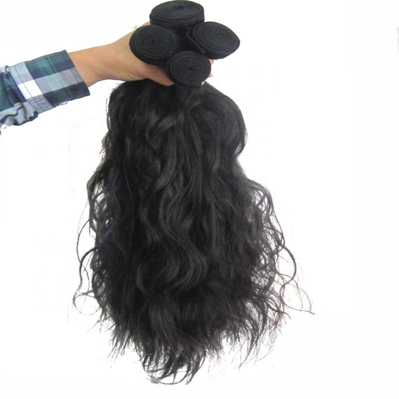 Free Sample Unprocessed Brazilian Hair Bundle 9A Grade Double Drawn Weft Extensions Wholesale 11