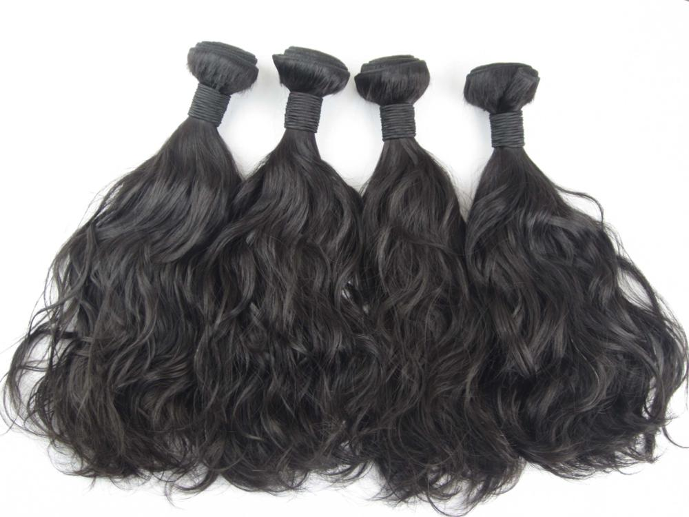 Free Sample Unprocessed Brazilian Hair Bundle 9A Grade Double Drawn Weft Extensions Wholesale 8