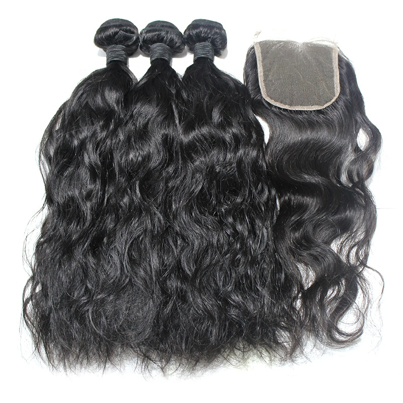 Free Sample Unprocessed Brazilian Hair Bundle 9A Grade Double Drawn Weft Extensions Wholesale 10