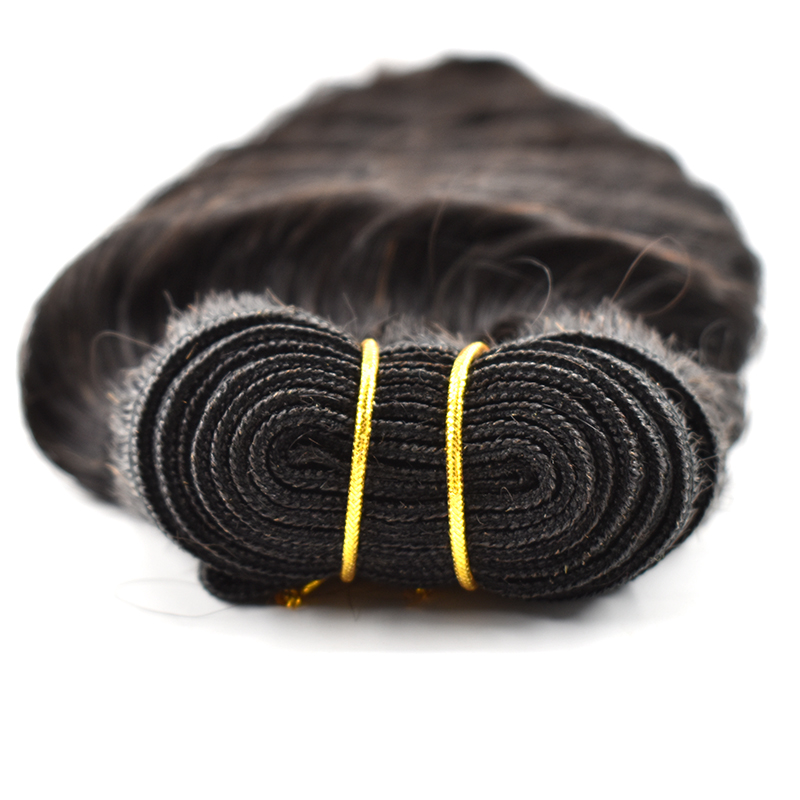 Unprocessed Cambodian virgin cuticle aligned human hair raw hair extension deep wave hair bundles 9