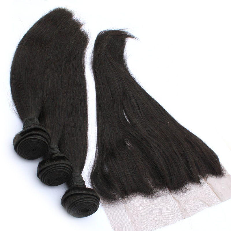 Straight Straight Virgin Hair Lace Frontal  Wholesale 7