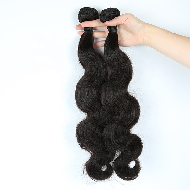 Chinese 100% Human Hair Weaves Body Wave Weft Hair Human Hair Extensions 8