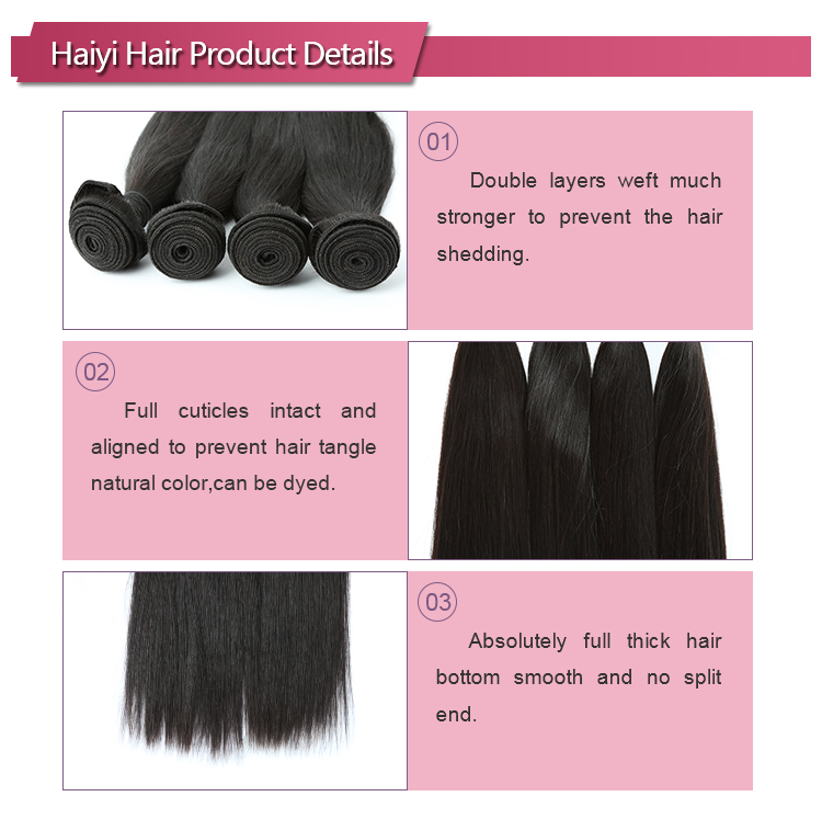 Free Sample China Brazilian Hair Manufacturers Human Hair Extension Natural Wave Hair Weave 14