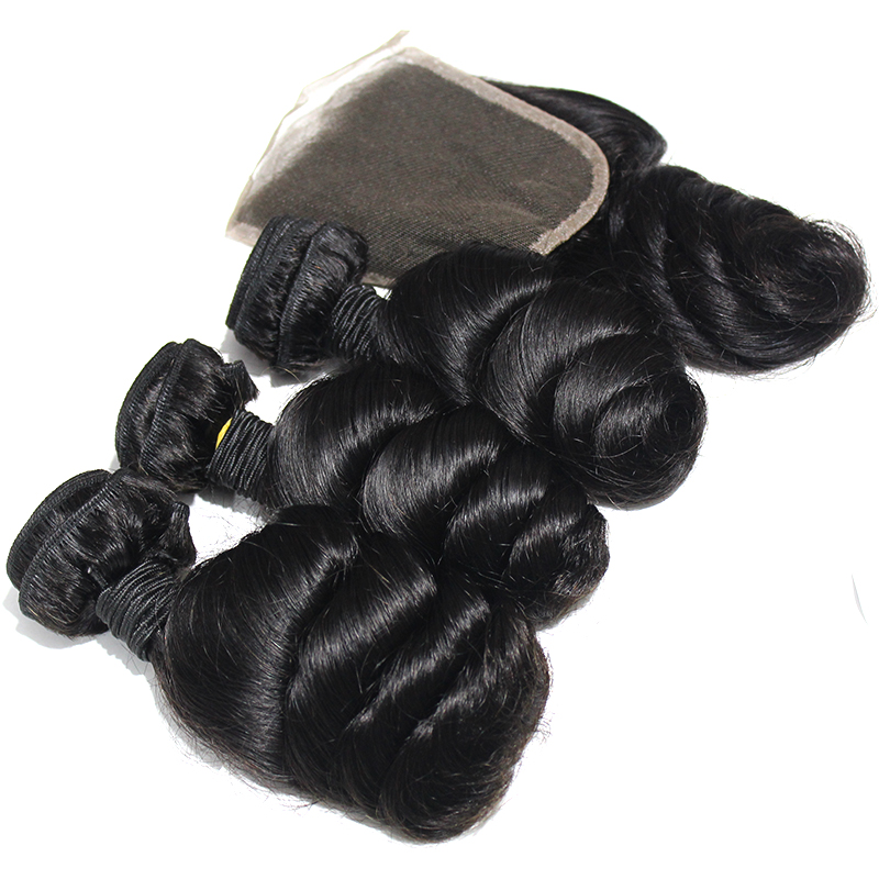 New products Top sell hair Brazilian Hair Bundles Loose Wave Raw Cuticle Aligned  Hiar Extensions 11