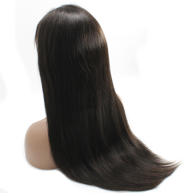 Wholesale factory price Raw Virgin Cuticle Aligned Front HD Lace Human Hair Straight Virgin Wigs 8