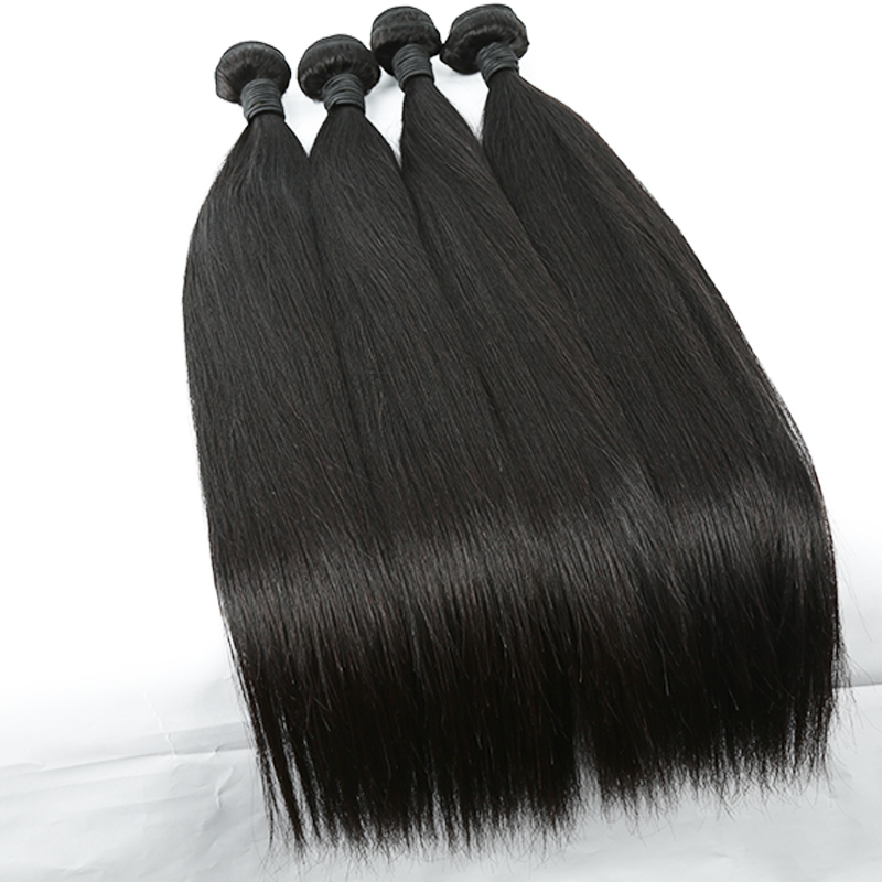 Wholesale vendors 100% virgin human extension raw brazilian hair Weaving 7