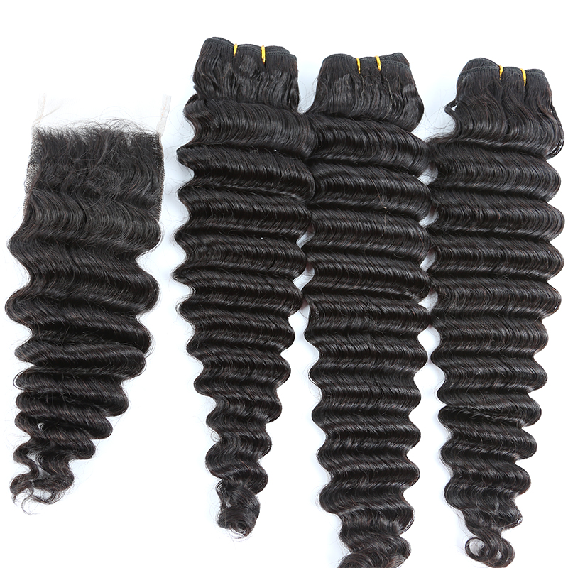 Mink Hair Deep Wave No Tangling No Shedding Cuticle Aligned Bundle Hair Vendors Drop Shipping 8