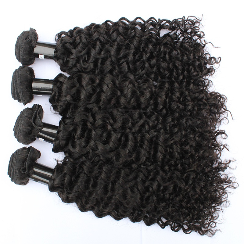 Grade  10A Wholesale Price Curly Mink Brazilian Virgin Hair cuticle aligned hair bundles 8