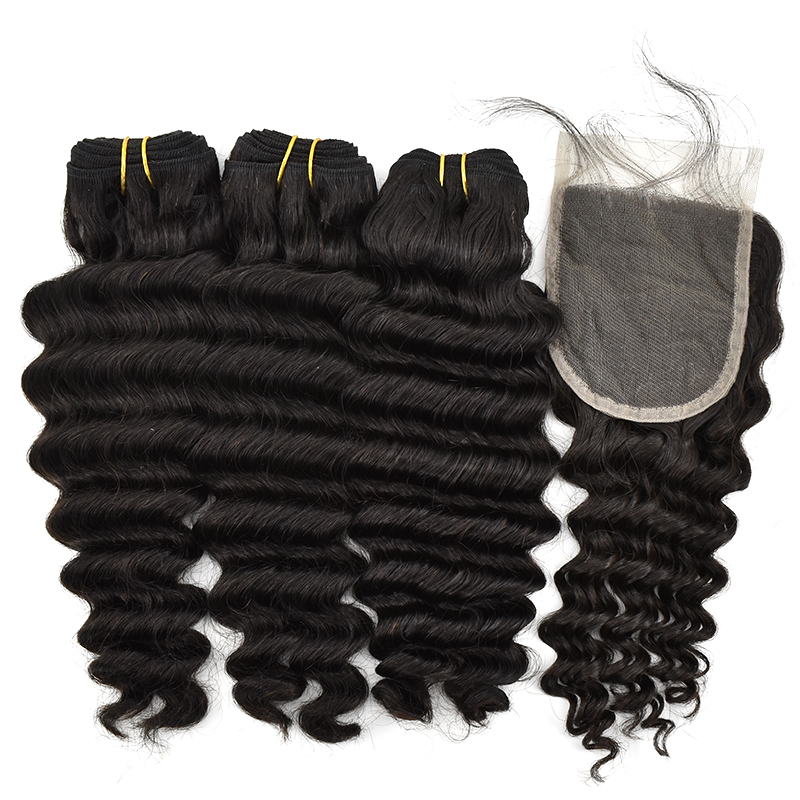 100% Human Hair Natural Brazilian Hair Bundles Mink Brazilian Human Hair Bundles 9