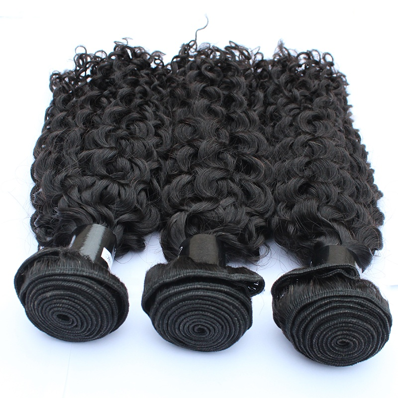curly  hair extension weave human hair best selling Raw indian hair 10