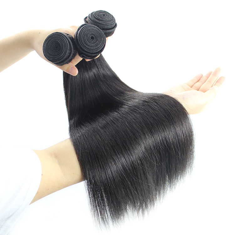 Cuticle Aligned Raw Virgin Deep Wave Natural Color Human Hair Bundles 8
