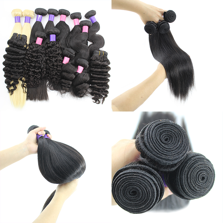 Cuticle Aligned Raw Virgin Deep Wave Natural Color Human Hair Bundles 13