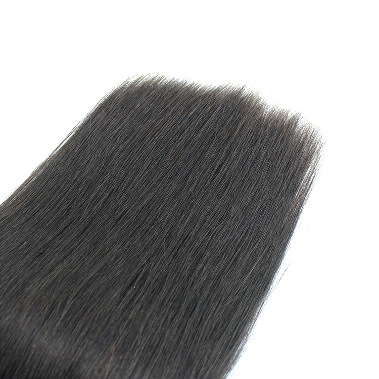 Cuticle Aligned Raw Virgin Deep Wave Natural Color Human Hair Bundles 10