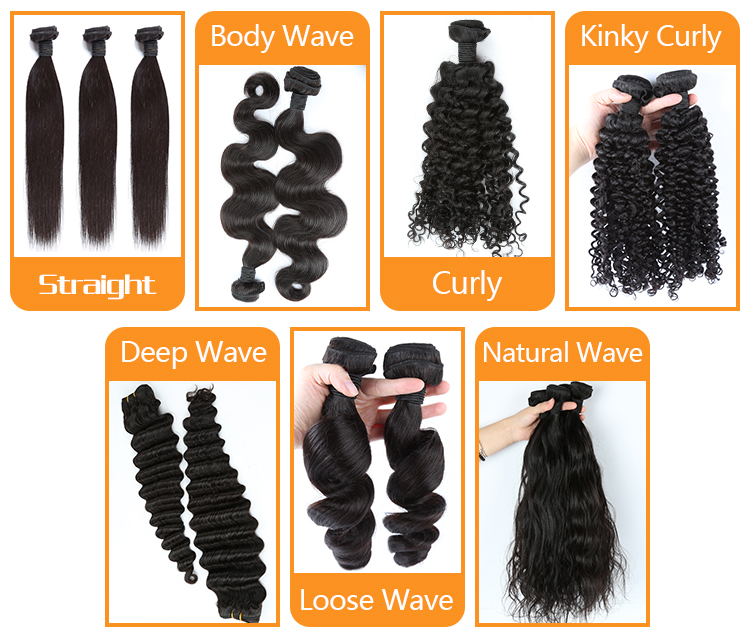Free Shedding No Tangled Hair Bundles Virgin Unprocessed Human Hair Weave Curly Hair 13