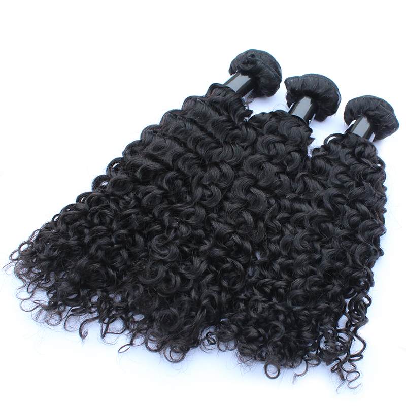 Free Shedding No Tangled Hair Bundles Virgin Unprocessed Human Hair Weave Curly Hair 9